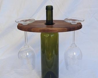 Bamboo Wine Display
