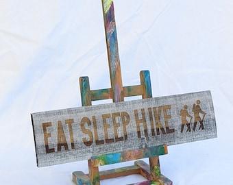 EAT SLEEP HIKE - Wall Art