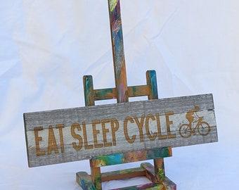 EAT SLEEP CYCLE - Wall Art