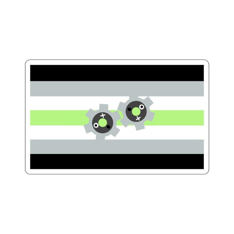 Agender Klink Vinyl Sticker