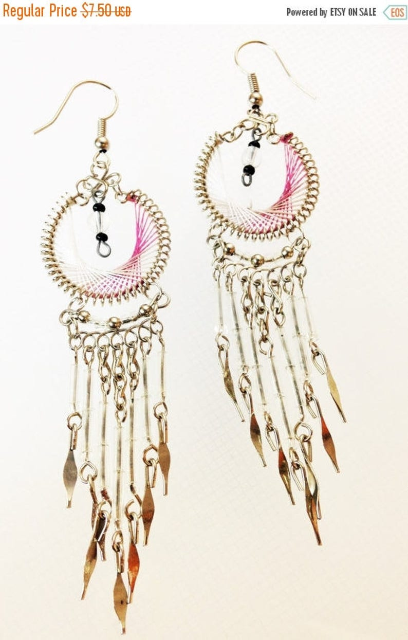 SALE NOW SALE Earrings Only 7.50 was 14.99  Dream Catcher image 0
