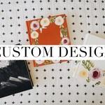Custom Design // Hand Painted Bible