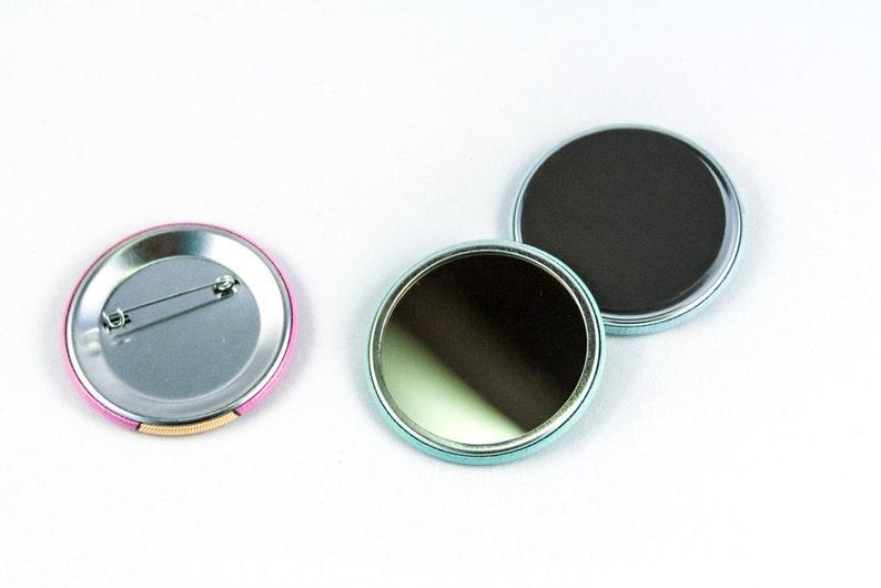 hamster gifts or Pocket Mirror Hamster Magnet cute fridge magnet refrigerator magnet Pin stocking stuffer pinback button