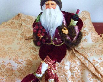 Sober Santa.
