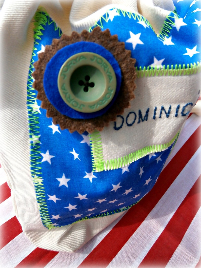 B O Y S Personalised Sewing kit/Craft bag  for image 0