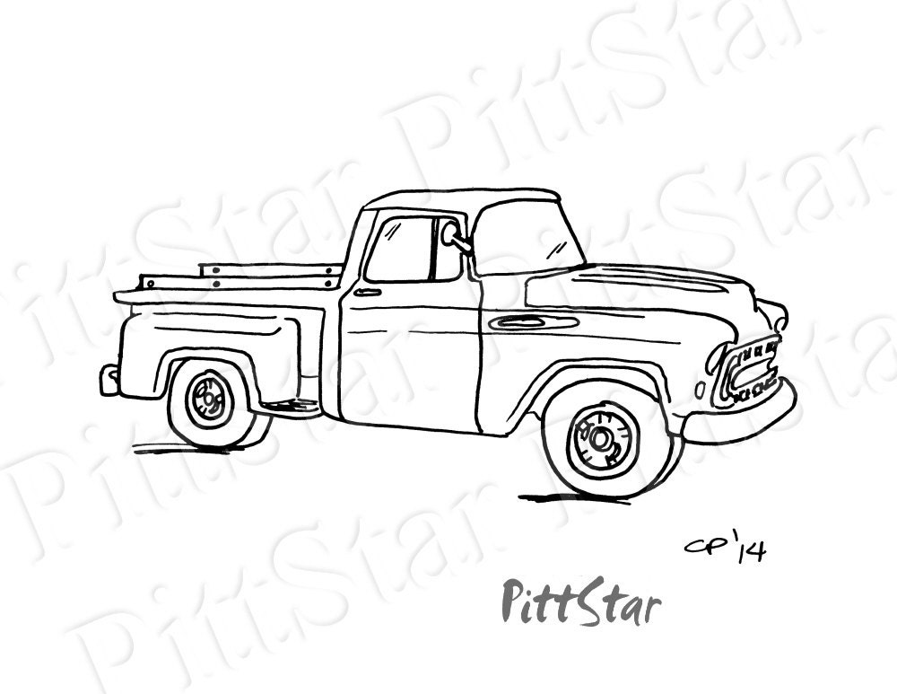 1957 checy pick up t shirts wiring diagram database 1957 Chevrolet Truck instant download vintage 57 chevy pickup printable etsy 1957 checy pick up t shirts