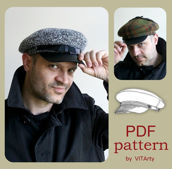 Fiddler Fisherman Hat PDF Sewing Pattern   S M L sizes    909cc4ad707b