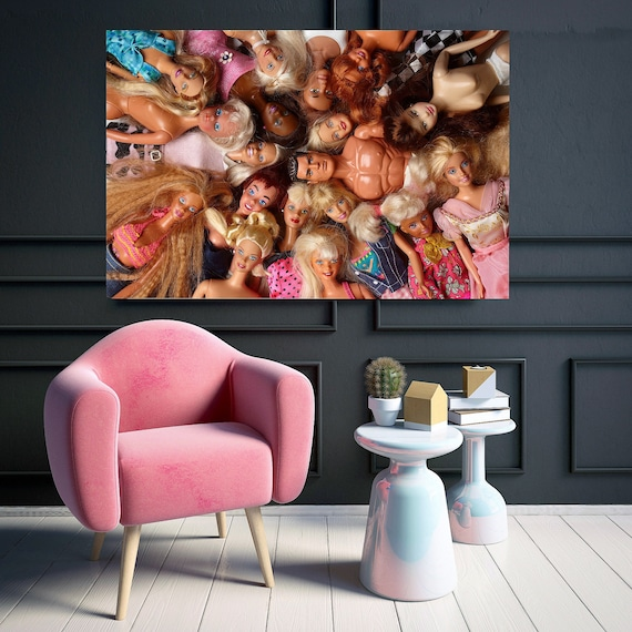 Doll groupies print