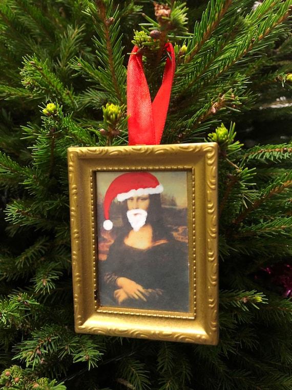Christmas tree decoration - Mona Santa