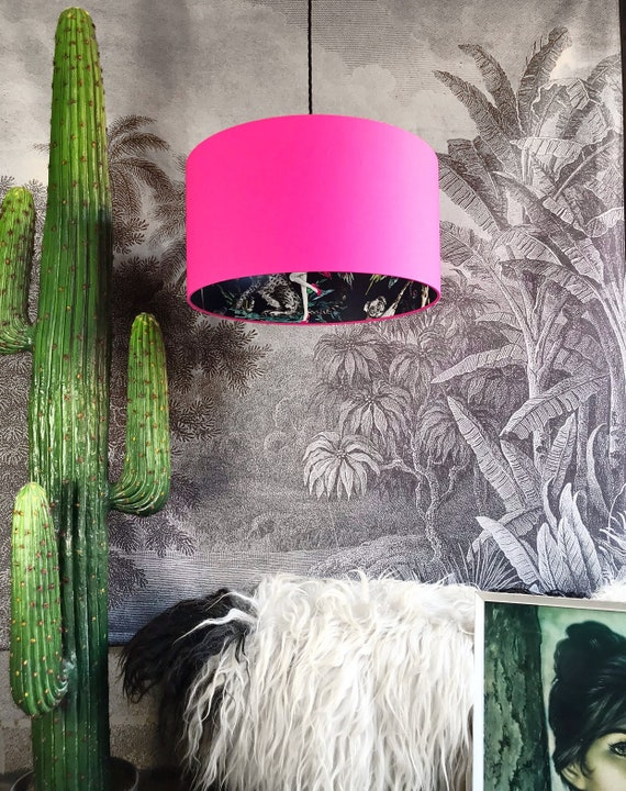 Chimiracle Dark silhouette lampshade choice of colours                                                          LOVE FRANKIE X MnB