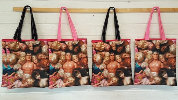 Canvas Tote bag doll groupies
