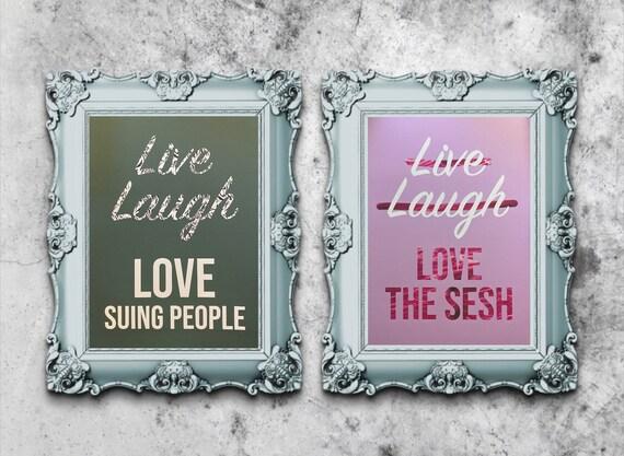 Live Laugh Love prints