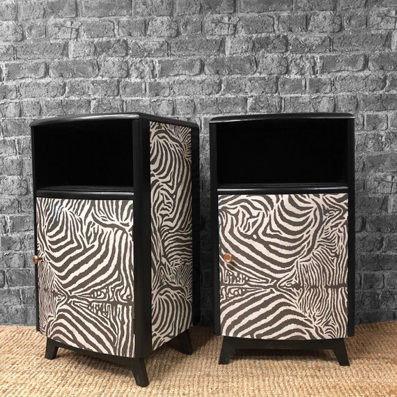 Tiger solid wood bedside cabinets