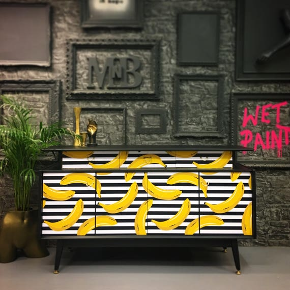 Gplan banana sideboard