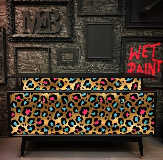 Leopard print Tola Gplan sideboard