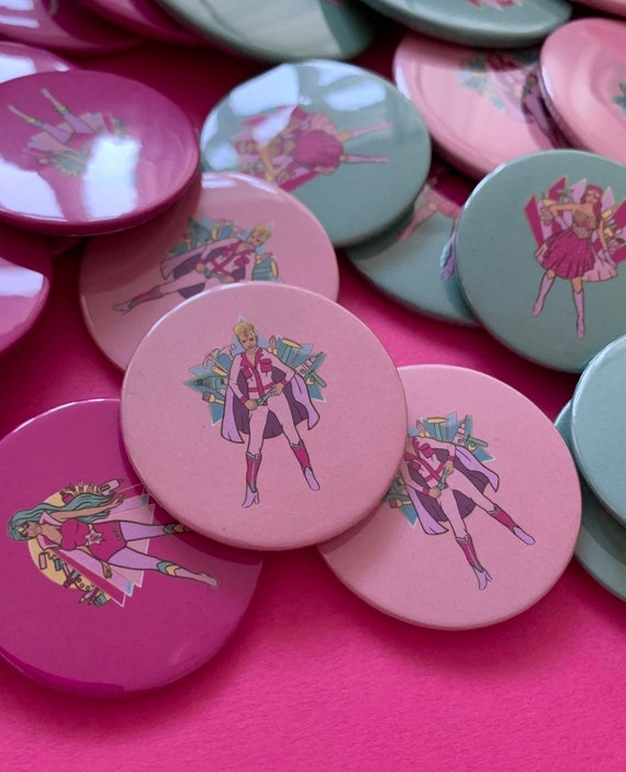 Super Muckers Badges - CHOICE OF DESIGNS