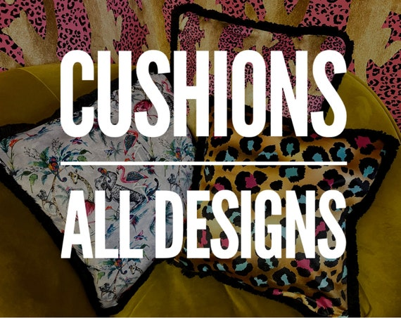 Luxury Velvet cushions covers CHOICE OF DESIGNS