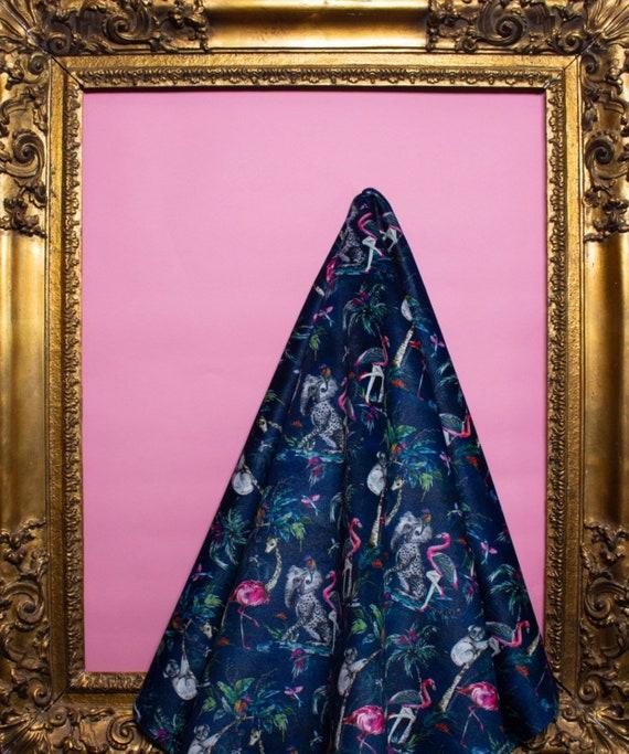 ChiMiracle dark LUXURY VELVET Fabric