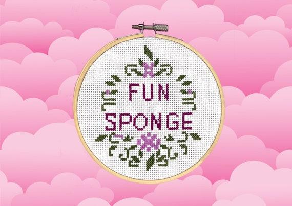 Cross Stitch Kit - Fun Sponge