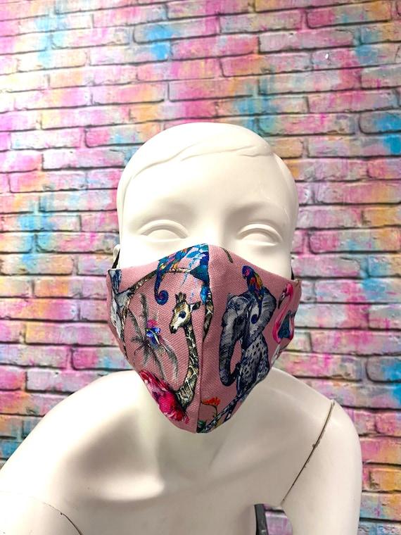 Linen face mask