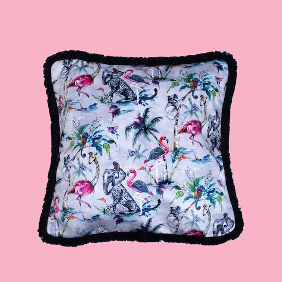 Grey Chimiracle - Luxury velvet cushion cover