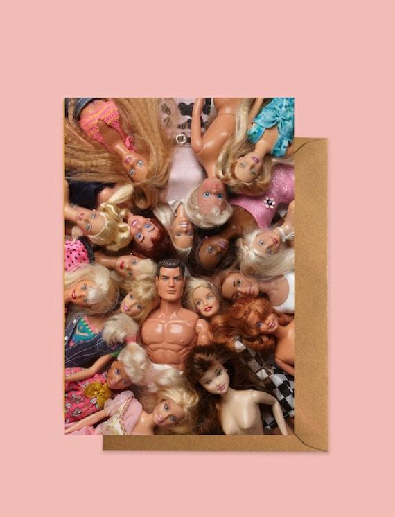 Doll groupie Celebration greetings card