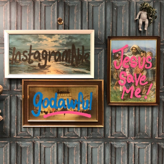 Graffiti wall art CHOICE OF DESIGNS
