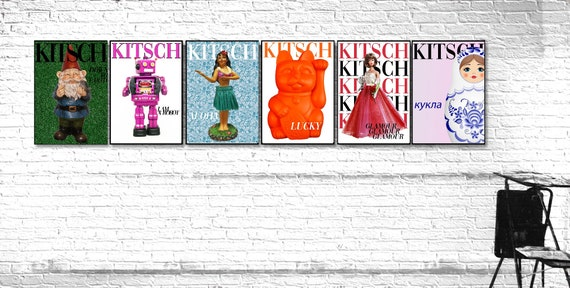 Kitsch covers prints