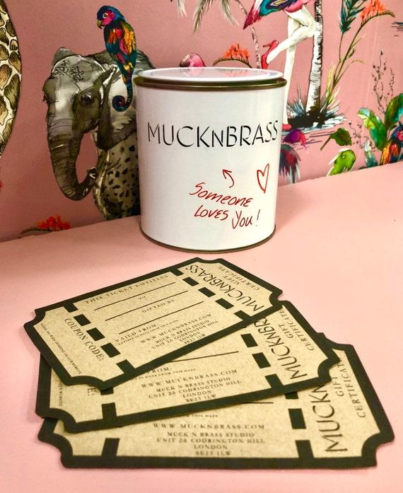 Muck N Brass Vouchers