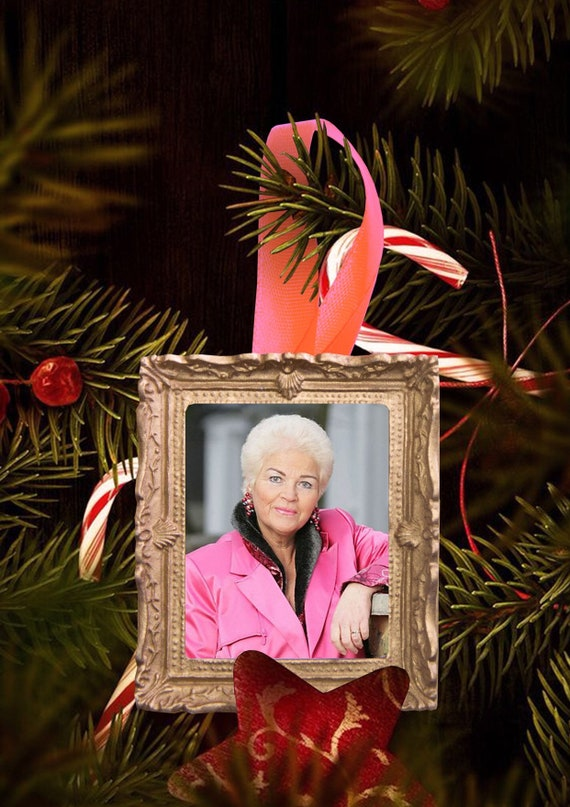Christmas tree ornament - Pat Butcher