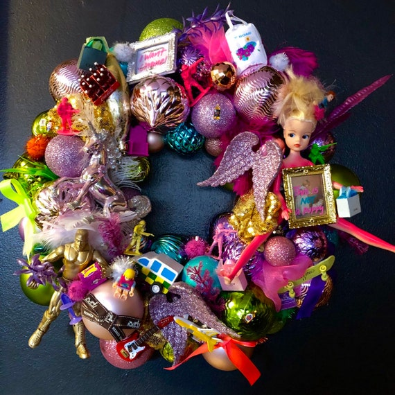 CUSTOM made Kitsch Kristmas Wreath