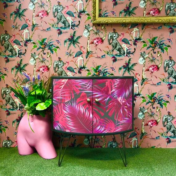 Pink palms gplan corner unit