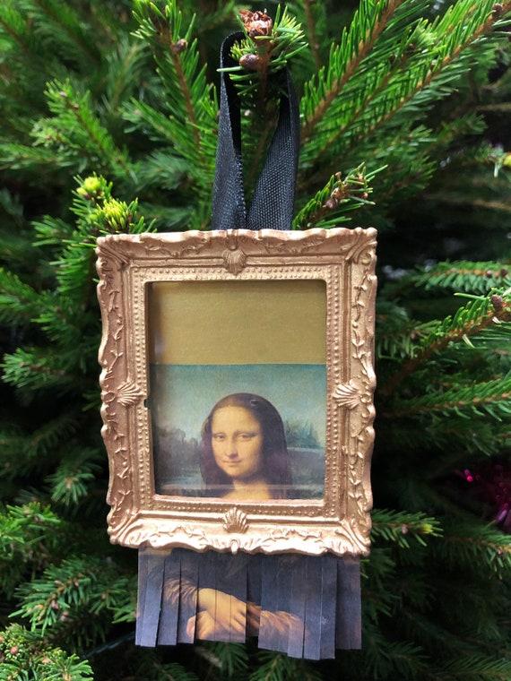 Christmas tree decoration - Mona In The Bin