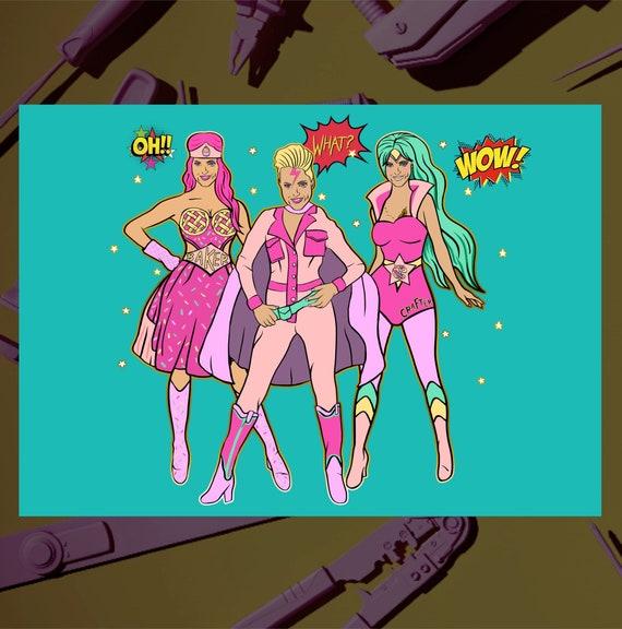 Super Muckers hero's - Girl Gang