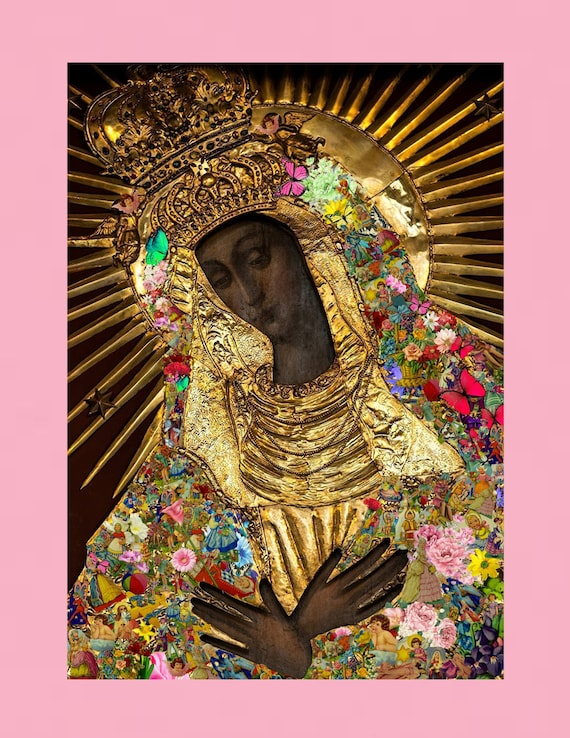 Our lady of the gate of dawn print