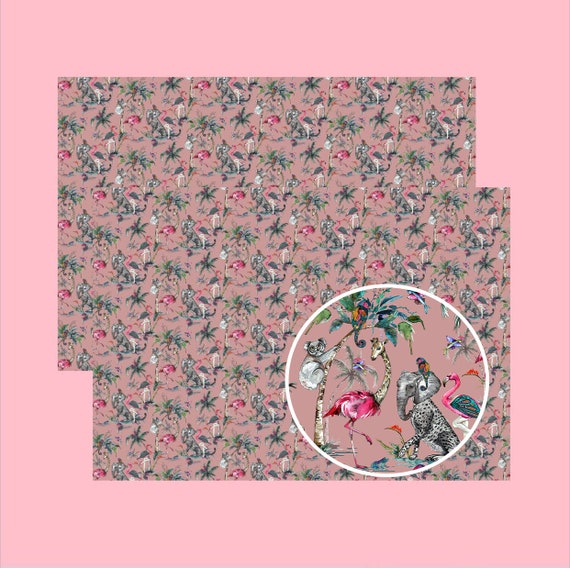 Chimiracle Wrapping paper Pink