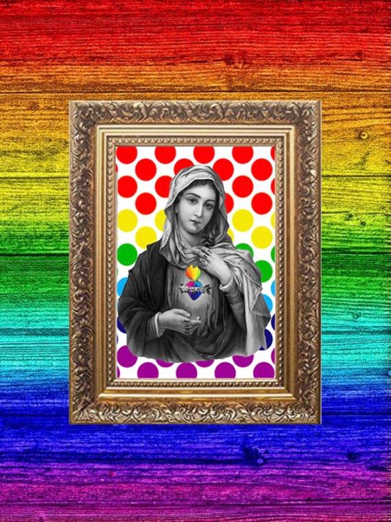 Pride Mary print