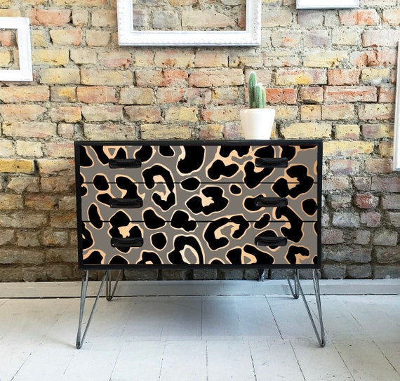 Leopard Gplan drawers