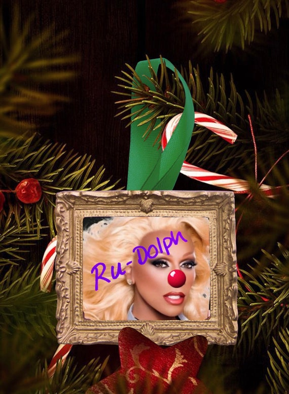 Christmas tree ornament - Ru Dolph