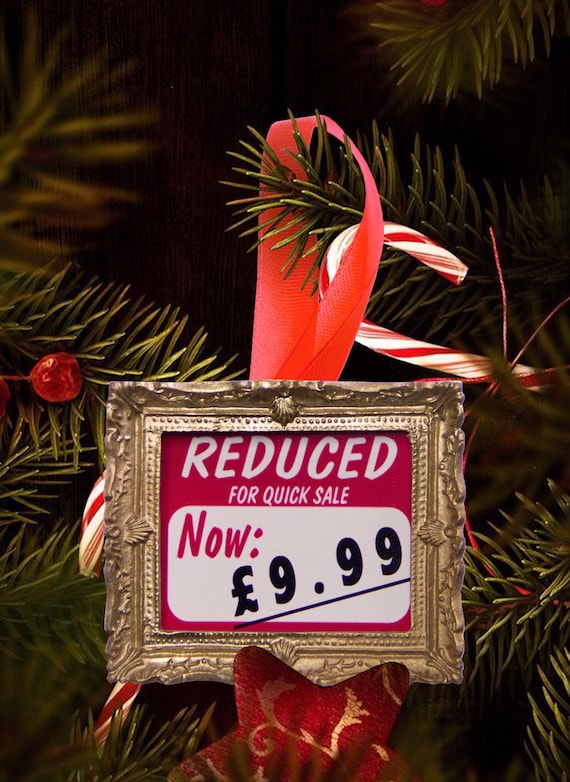 Christmas tree ornament - Reduced 9.99
