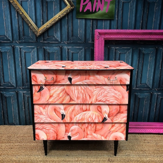 Flamingo chest of drawers