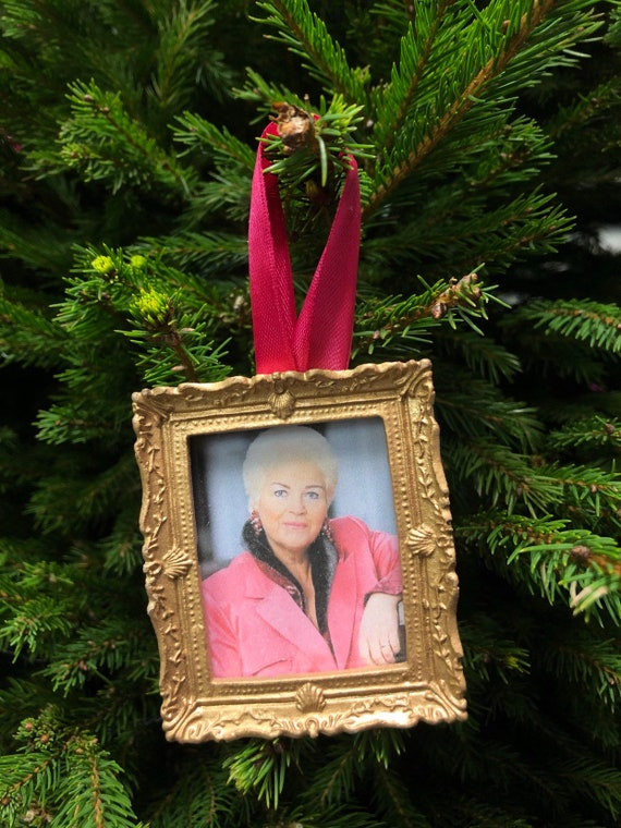Christmas tree decoration - Pat Butcher
