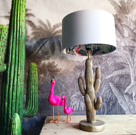 Chimiracle grey silhouette lampshade choice of colours                                                          LOVE FRANKIE X MnB