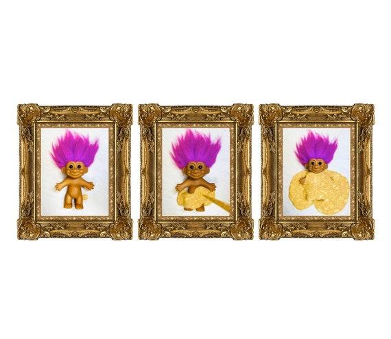 Under The Custard Triptych