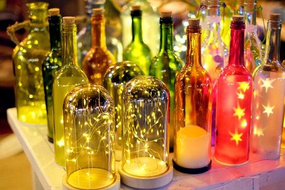 WEDNESDAY 17th October Glass Bottle Lights workshop