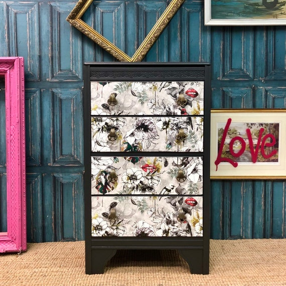 Tallboy valet chest of drawers