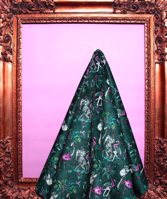 Chimiracle Emerald LUXURY VELVET Fabric