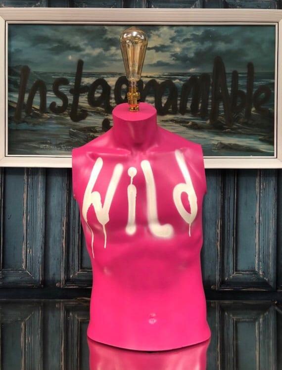 Pink & Wild lamp