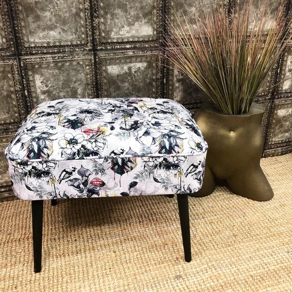 Contemporary stool in choice of fabrics