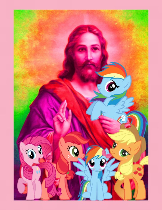 My Little Jesus print